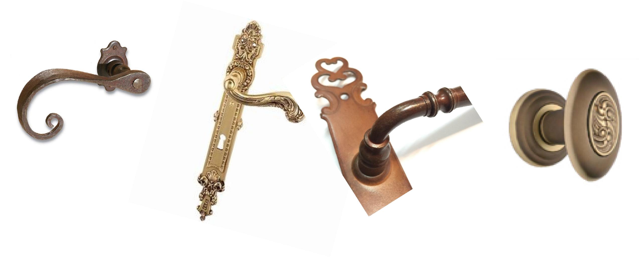 Maniglie porte stile antico e classico ferramenta on line for Maniglie on line