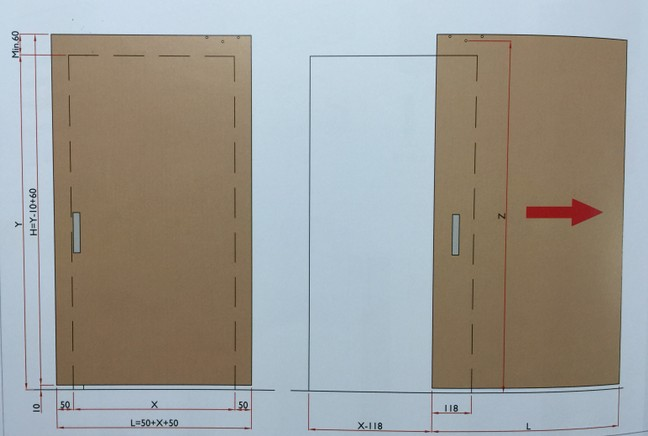 Magic scorrevole per porta in legno ferramenta on line - Ferramenta porta scorrevole ...